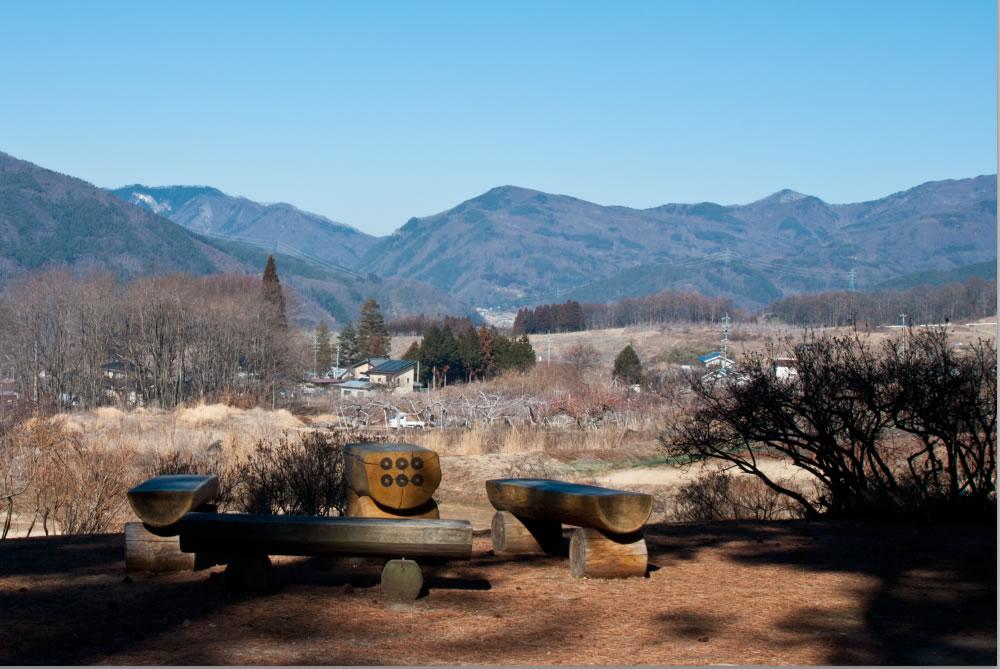 真田御屋敷から見た四阿山